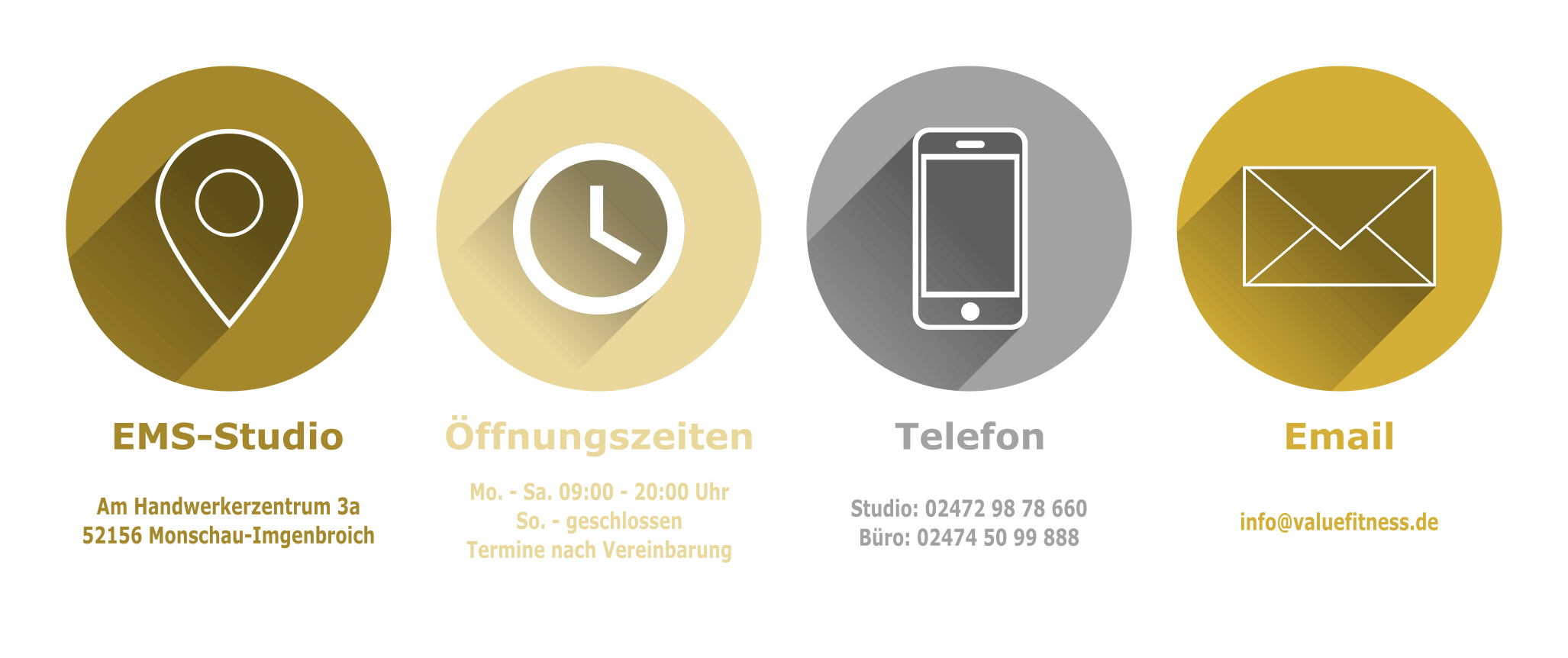VALUE Fitness GmbH_EMS-Studio_Kontaktaufnahme